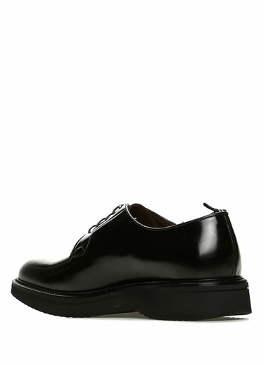 Green George Deri Ayakkabı Siyah